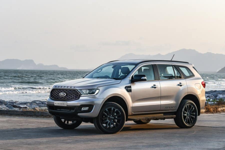 hinh anh xe ford everest sport