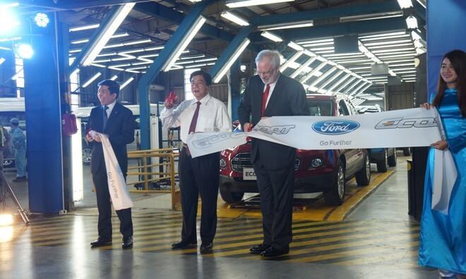 Hình ảnh Ford Ecosport được ra mắt tại Việt Nam