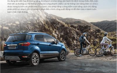 5 lý do chọn xe Ford Ecosport