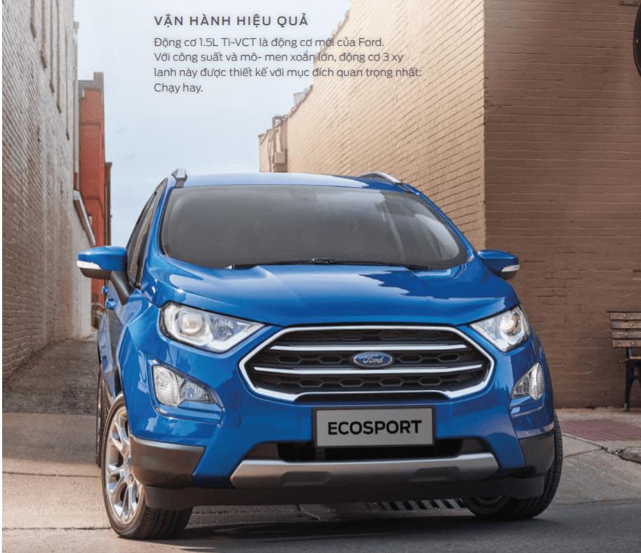 Chi tiết Ford Ecosport mới - Đánh giá từ chuyên gia