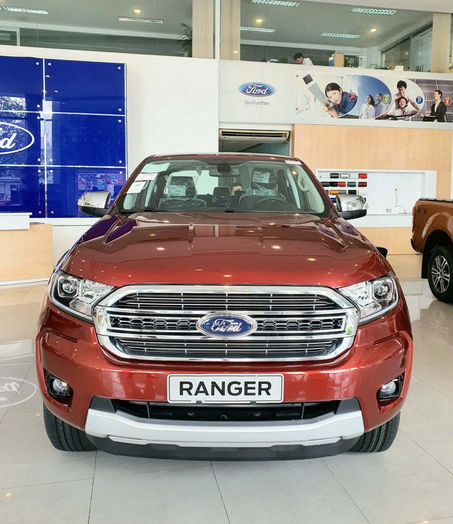 Giá lăn bánh xe Ford Ranger 2021 tại Đà Nẵng và các tỉnh lân cận