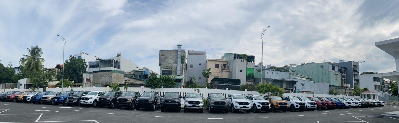 Hình ảnh Kho xe tại Ford Đà Nẵng