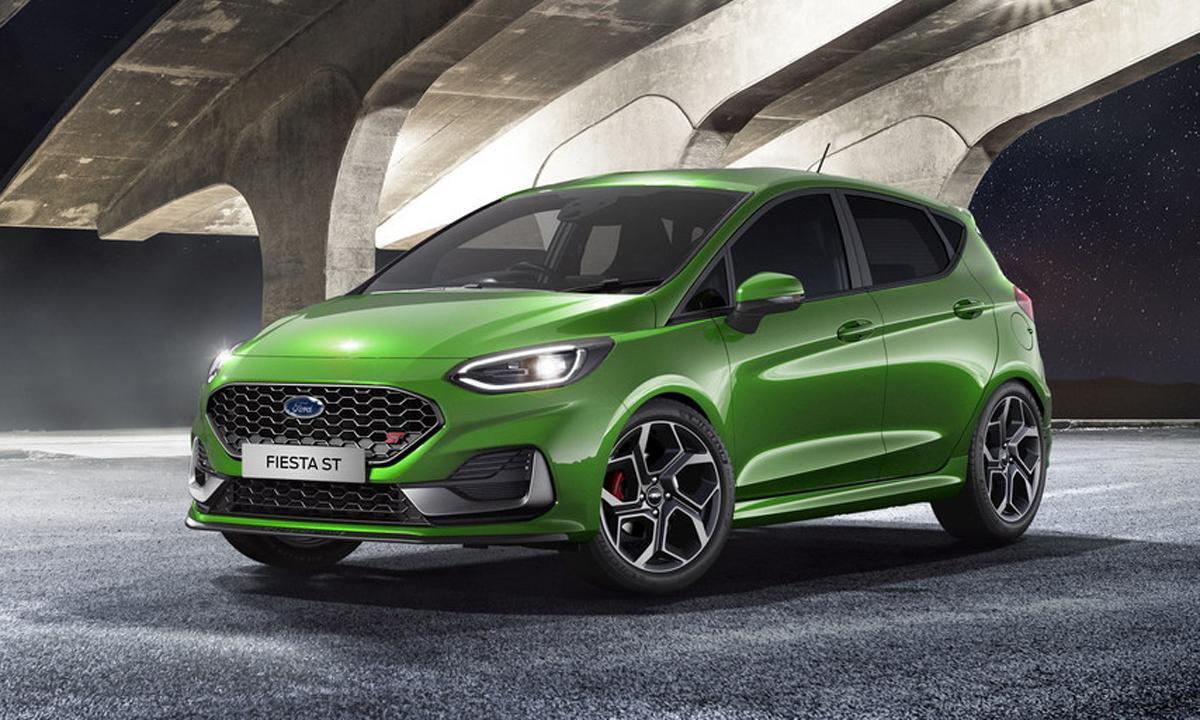 Ford Fiesta 2022 hình ảnh mới